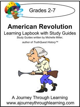 Truthquest-American Revolution Lapbook with Study Guide--8.00