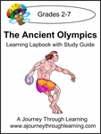 The Ancient Olympics Lapboook with Study Guide-8.00