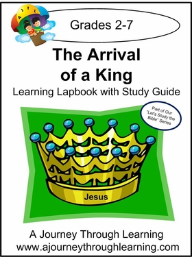 Arrival of a King Lapbook with Study Guide--8.00