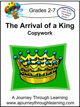 The Arrival of a King Print Style 1--4.50