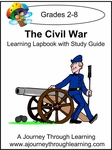 The Civil War Lapbook with Study Guide-8.00