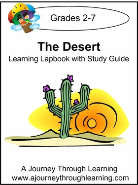 The Desert Lapbook with Study Guide-8.00