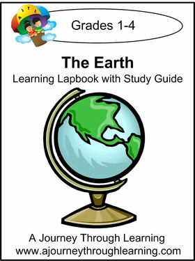 The Earth Lapbook with Study Guide--8.00