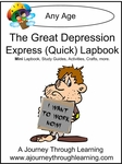 The Great Depression Express (Quick) Lapbook 2.00!