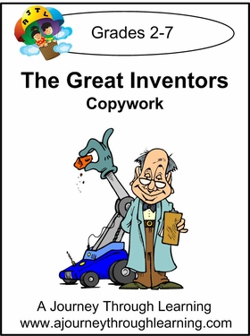 The Greatest Inventors Print Style 2--4.50