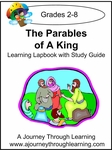 The Parables of a King Lapbook with Study Guide--8.00