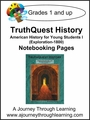TruthQuest American History for the Young Child 1 Notebooking Pages