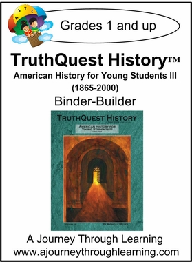 TruthQuest American History for the Young Child III Binder- Builder