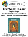 TruthQuest Beginnings Maps, Timeline, and Report Package