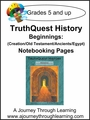 TruthQuest Beginnings Notebooking Pages