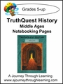 TruthQuest Middle Ages Notebooking Pages