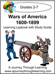 Wars of America 1600-1899 Lapbook with Study Guide-8.00