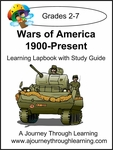 Wars of America 1900-Present Lapbook with Study Guide-8.00