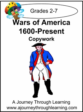 Wars of America Cursive Style 2-4.50