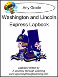 Washington and Lincoln Express (Quick) Lapbook 2.00!