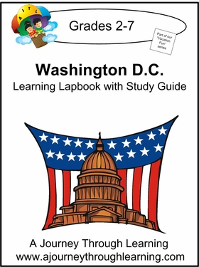 Washington D.C. Lapbook with Study Guide--8.00