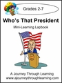 Who's That President Express (Quick) Lapbook-2.99