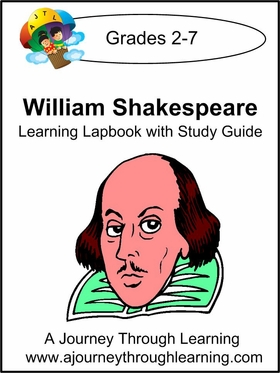 William Shakespeare Lapbook with Study Guide-8.00