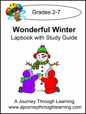 Wonderful Winter Lapbook with Study Guide-4.50