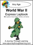 World War ll Express (Quick) Lapbook 2.00!