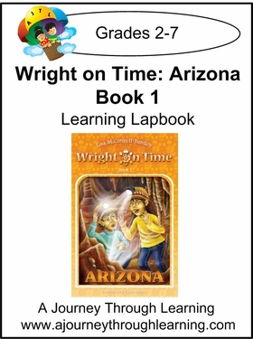 Wright on Time-Arizona Book 1 Lapbook Instant Download-$4.50