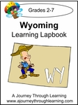 Wyoming State Study Lapbook--4.50