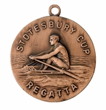 2 and 3-Dimensional Custom Medals Die Struck in Bronze and Iron