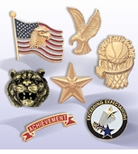 Award, Recognition and Service Lapel Pins