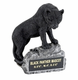 BLACK PANTHER MASCOT TROPHY