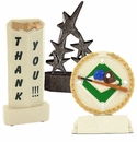 Cast Stone Trophies Without Plates