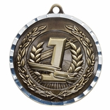 FIRST PLACE ANTIQUE FINISH BRASS MEDAL