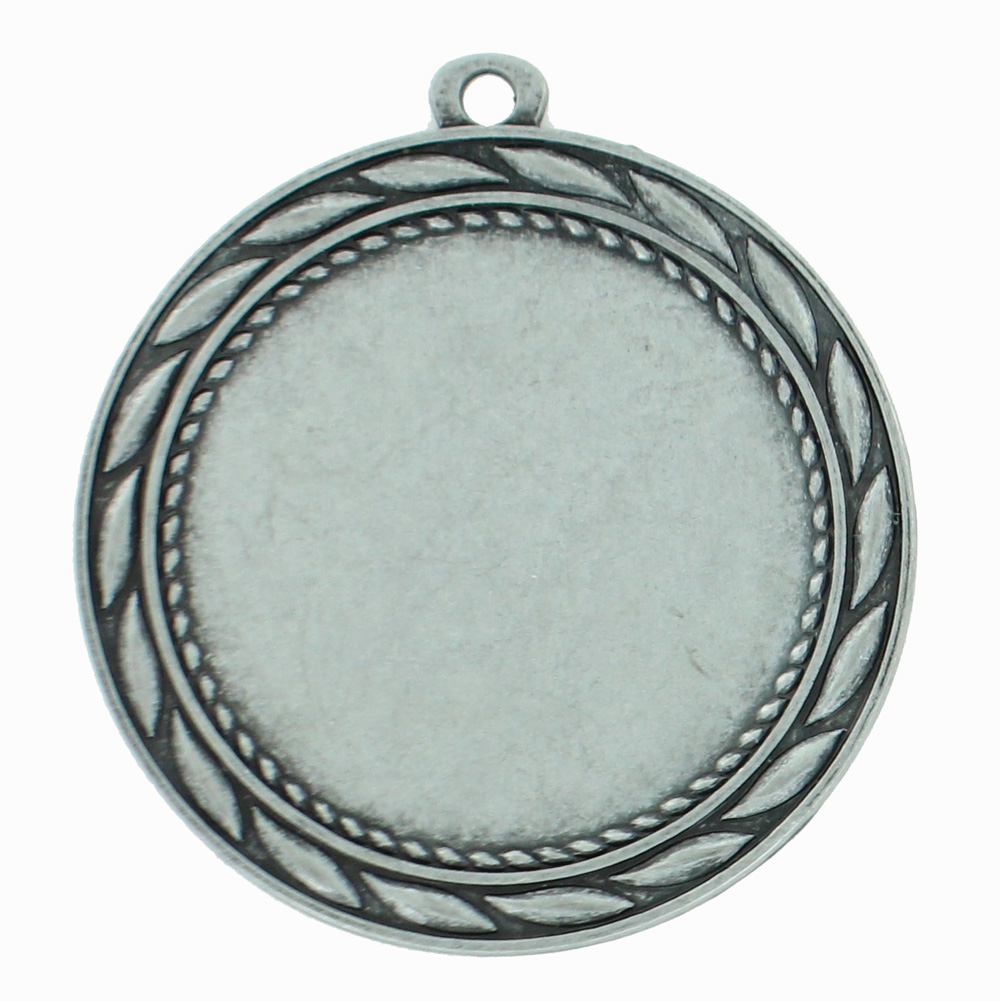 Medal Frame With Wreath Holds 2 Inch Medallion Insert