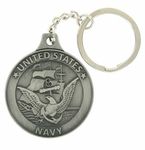 Military Pewter Key Chains