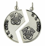 New Sterling Silver Military Medals