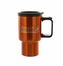 ORANGE TRAVEL MUG 16 OZ