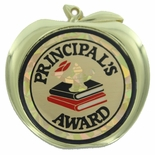 PRINCIPAL'S AWARD APPLE MEDAL