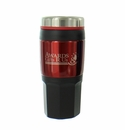 RED TRAVEL MUG SCREW ON TOP 16 OZ