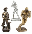 Resin Electroplated and Painted Trophies