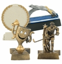 Sport Resin Trophies Without Plates