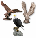 Trophy Eagles Without Plates