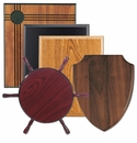 Wood Plaques and Simulated Wood Plaques