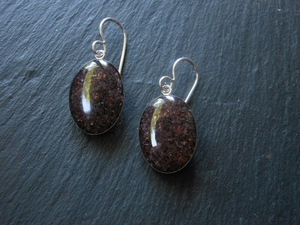 Pfeiffer Purple Sand Earrings by Dune