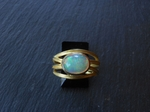 Ethiopian Opal Ring by Barbara Heinrich