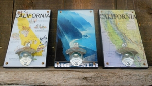 Sweet Art Attack Big Sur Bottle Openers