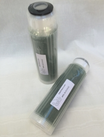 """Color Change Resin Deionization Water Filter Cartridge 2.5""""x10"""" 2-Pack"""