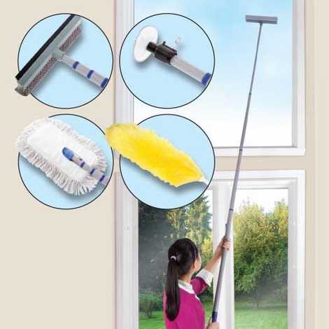 5 Piece High Reach Cleaning Kit