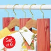 Cedar Hang-Ups - Set of 6