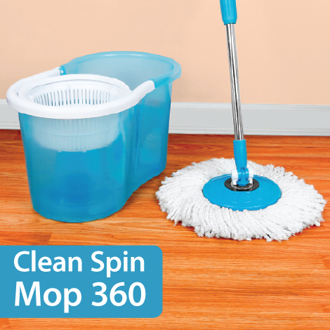Clean Spin Mop 360