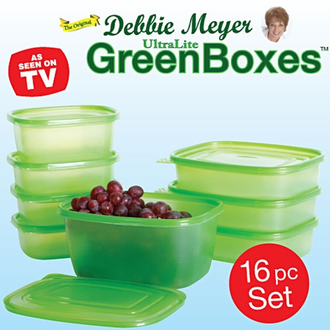 Debbie Meyer Greenboxes - 16 Pc Set