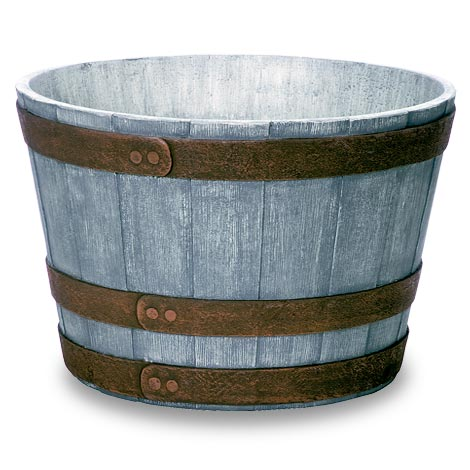 Feather Lite Whiskey Barrel